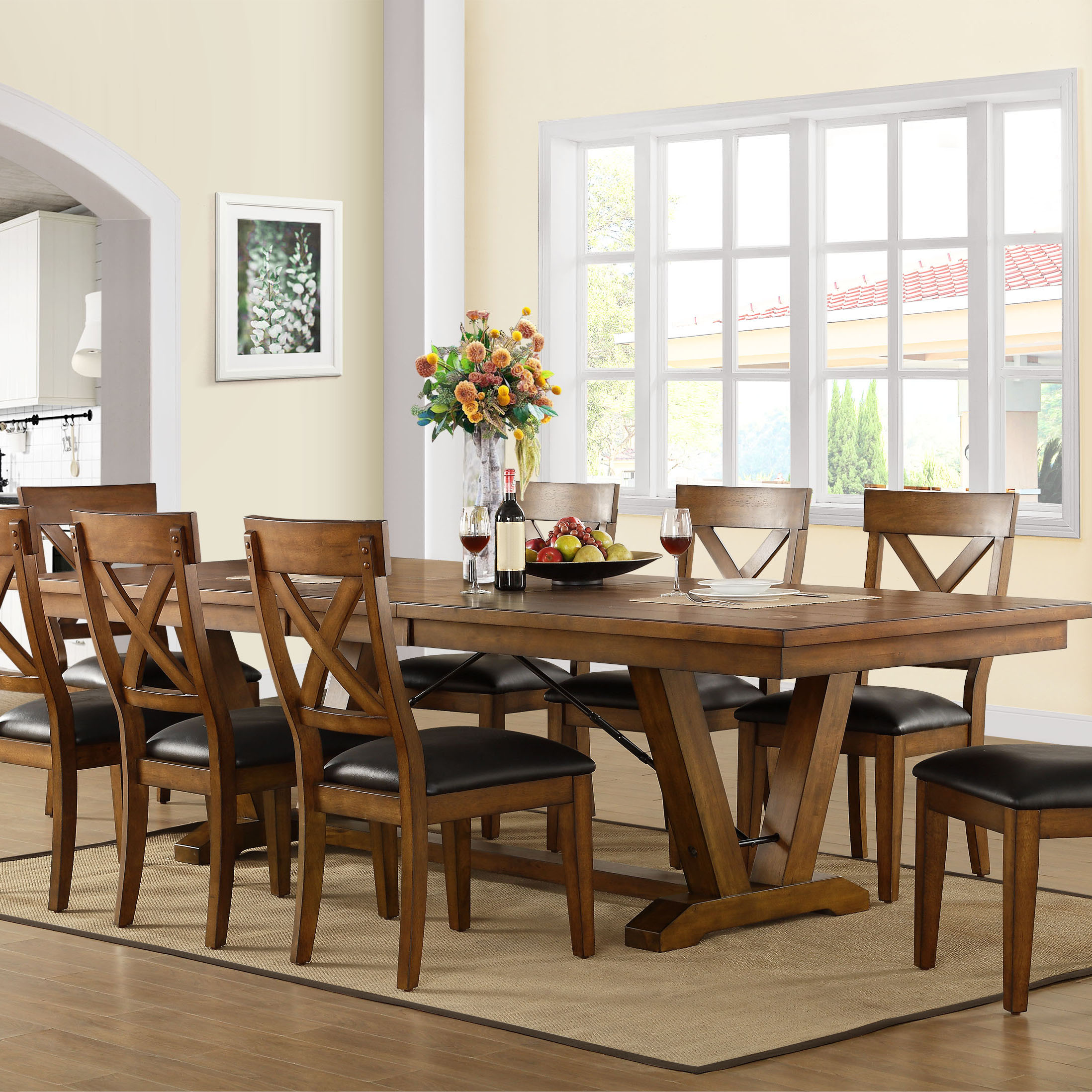 9 Piece Dining Set